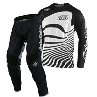 Troy Lee Designs DRIFT Youth Kids TLD GP Air Motocross Gear Black White