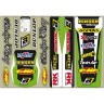 Blackbird Universal Trim Sticker Kit Kawasaki KX KXF Motocross Bikes