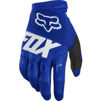 Fox Dirtpaw RACE Motocross Gloves BLUE