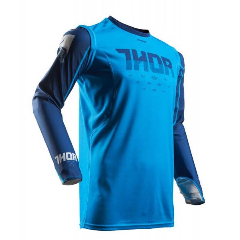 Thor Prime Fit ROHL Motocross Jersey Blue Navy SMALL ONLY