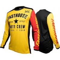 Fasthouse PHANTOM Motocross Jersey YELLOW