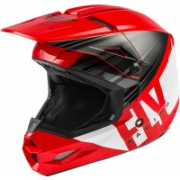 2020 Fly Racing Kinetic K220 Motocross Helmet RED BLACK WHITE