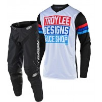 2020 Troy Lee Designs TLD GP CARLSBAD Motocross Gear White Black