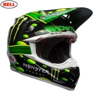 Bell Moto 9 Carbon Flex McGrath Monster Energy Showtime Motocross Helmet