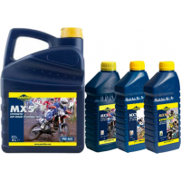 Putoline 2 Stroke Motocross Engine Oil MX5, MX7 or MX9