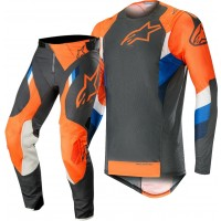2019 Alpinestars Supertech Anthracite Orange Motocross Gear