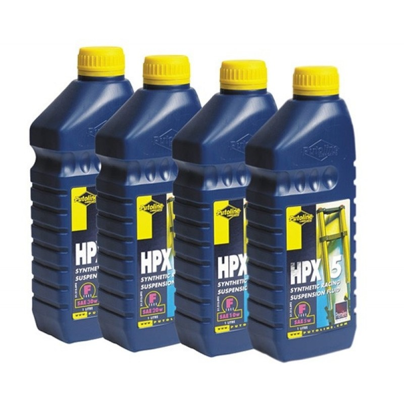 Putoline HPX Suspension Fork Oil 1 Litre
