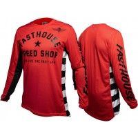 Fasthouse ORIGINALS Air Cooled Motocross Jersey RED