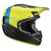 Thor Sector Shear Kids Youth Motocross Helmet BLACK ACID