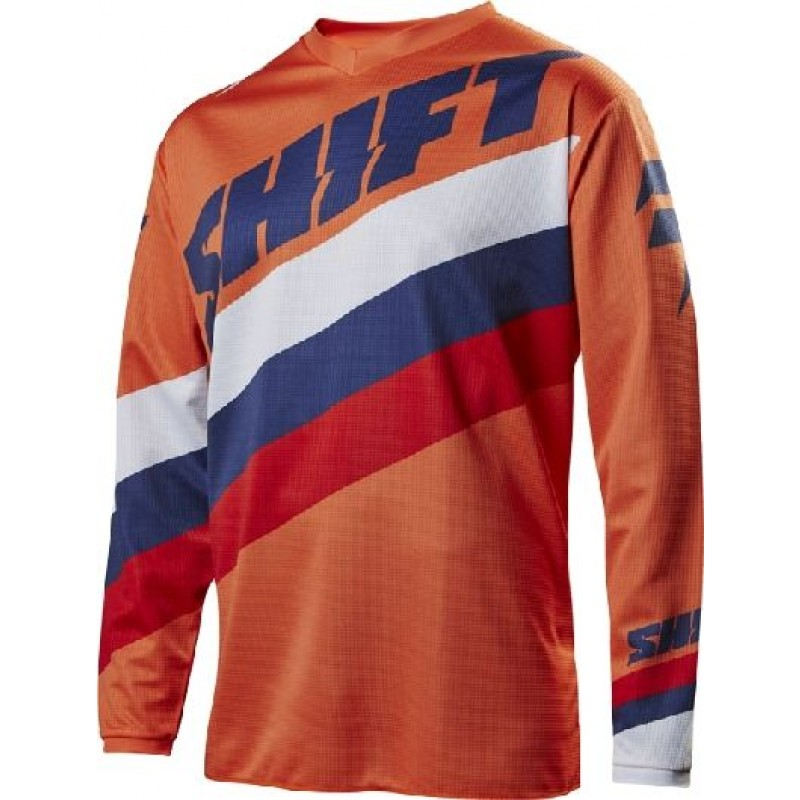 Shift WHIT3 Label Tarmac Kids Youth Motocross Jersey Orange