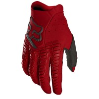 Fox Pawtector Motocross Gloves FLAME RED SMALL or XXL ONLY