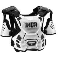 Thor Guardian Motocross Chest Protector Body Armour XL/XXL White Black