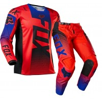 2021 Fox 180 Youth Kids Motocross Gear OKTIV FLO RED