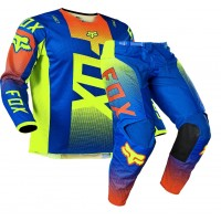 2021 Fox Peewee Toddler 180 Motocross Gear OKTIV BLUE AGE 4 ONLY