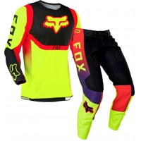 2021 Fox 360 Motocross Gear VOKE FLO YELLOW