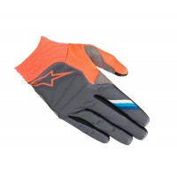 2019 Alpinestars Aviator Motocross Gloves Anthracite Flou Orange