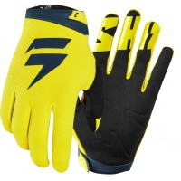 2019 Shift WHIT3 Label Air Motocross Gloves YELLOW NAVY