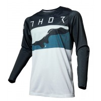 Thor MX Prime Pro Fighter Motocross Jersey Blue Camo XL ONLY