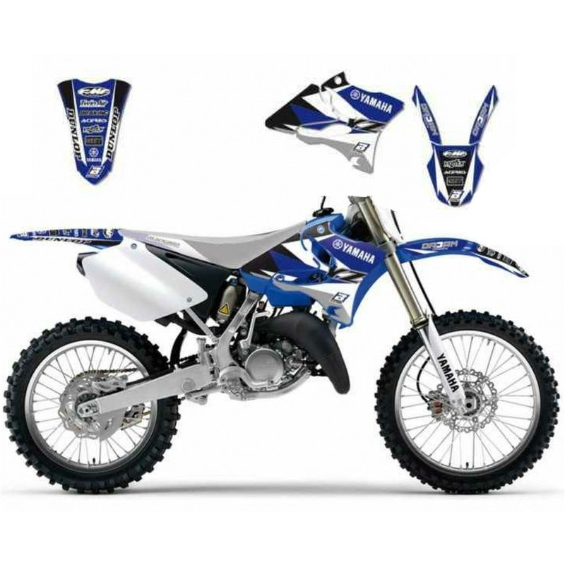 Blackbird Yamaha YZ125 YZ250 2002-2014 Dream 3 Graphics Kit