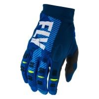 2020 Fly Racing Evolution Motocross Gloves Blue White