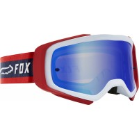 2020 Fox AIRSPACE SPARK Motocross Goggles PRIX NAVY RED with Mirrored Lens