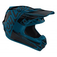 Troy Lee Design SE4 MIPS Team Factory Ocean Kids Motocross Helmet