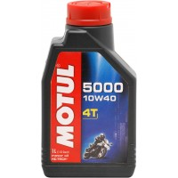 Motul 5000 Semi Synthetic 10/40 4 Stroke Engine Oil 1 Litre
