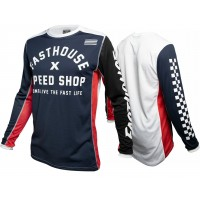 Fasthouse HERITAGE Motocross Jersey NAVY