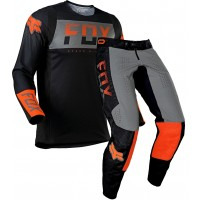2021 Fox 360 Motocross Gear AFTERBURN BLACK