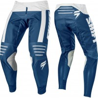 2019 Shift 3LACK LABEL STRIKE Motocross Pants BLUE