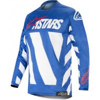 2019 Alpinestars Racer BRAAP Blue White Red Motocross Jersey