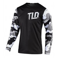 2020 Troy Lee Designs TLD GP CAMO Motocross Jersey White Black XXL ONLY