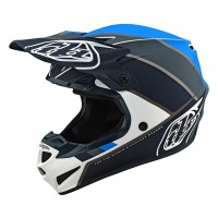Troy Lee Designs SE4 MIPS POLY BETA Motocross Helmet White Grey