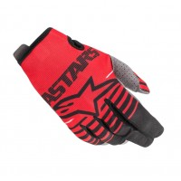 2020 Alpinestars RADAR Kids Motocross Gloves Bright Red Black