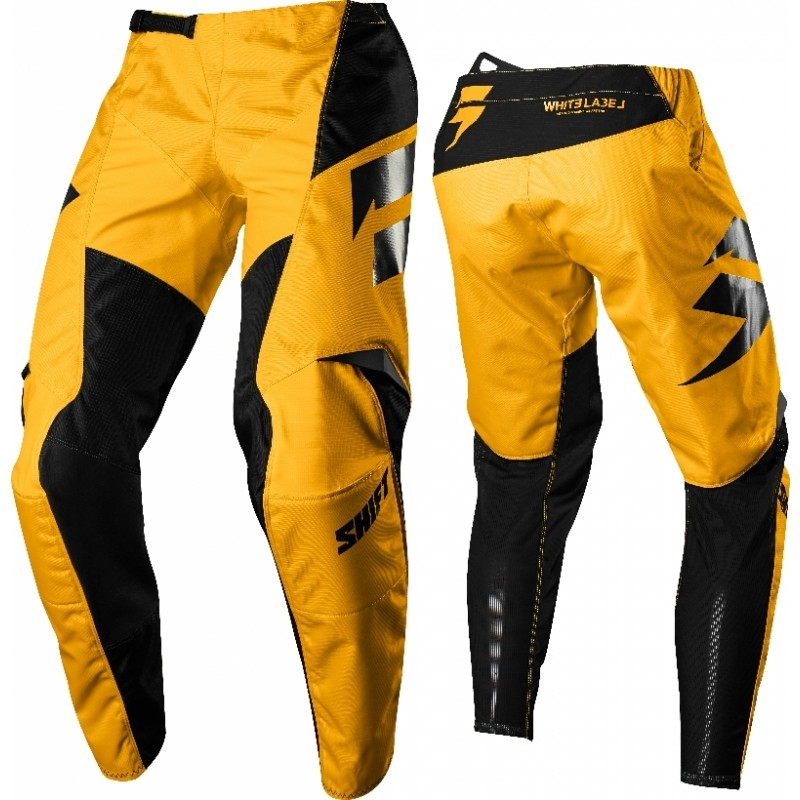 Shift WHIT3 Label Ninety Seven Kids Youth Motocross Pants YELLOW 26 ONLY