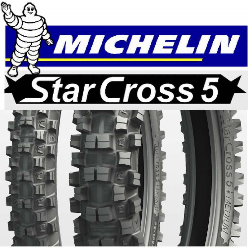 Michelin Starcross Motocross Tyres Adult MX Bikes