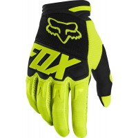 2020 Fox Dirtpaw Kids Youth Motocross Gloves RACE FLO YELLOW