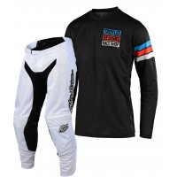 2020 Troy Lee Designs TLD GP AIR SADDLEBACK Motocross Gear Black Cyan White
