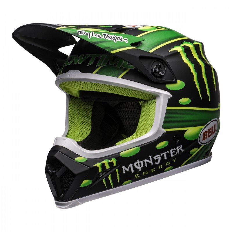 2020 Bell MX9 McGRATH MONSTER ENERGY SHOWTIME Motocross Helmet MIPS