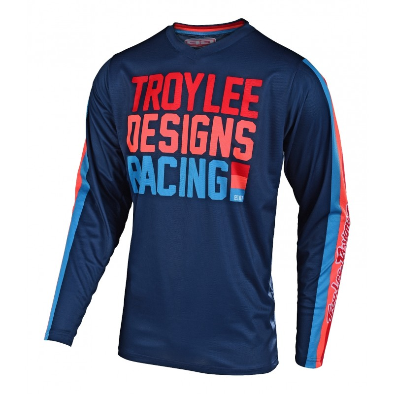 2019 Troy Lee Designs TLD GP AIR PREMIX Motocross Jersey Navy XL ONLY