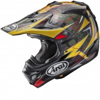 Arai MX-V Motocross Helmet MXV BROCK TICKLE REPLICA Red