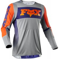 2020 Fox 360 Motocross Jersey LINC GREY ORANGE LARGE or XL ONLY