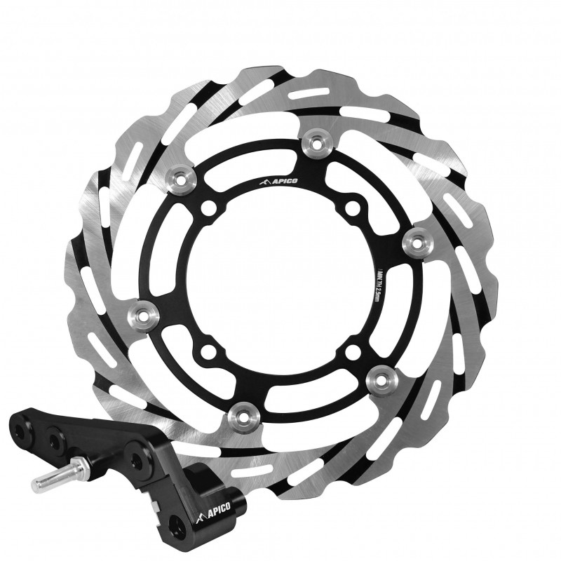 Apico 270mm Oversize Motocross Wavey Lazer Brake Disc Kit