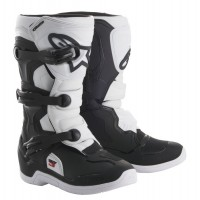 Alpinestar Tech 3S Kids Youth Motocross Boot White Black