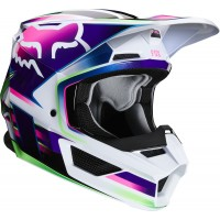 2020 Fox V1 GAMA Youth Kids Motocross Helmet MULTI