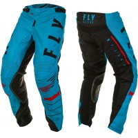 2020 Fly Racing Kinetic K120 Youth Kids Motocross Pants Blue Black Red