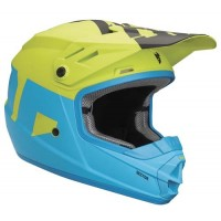 Thor Sector Kids Youth Motocross Helmet ELECTRIC BLUE LIME