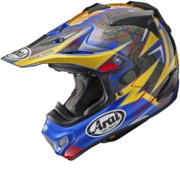 Arai MX-V Motocross Helmet MXV BROCK TICKLE REPLICA Blue