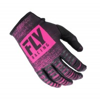 2019 Fly Racing Kinetic Noiz Motocross Gloves Neon Pink Black