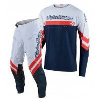 2020 Troy Lee Designs TLD SE ULTRA Motocross Gear FACTORY WHITE NAVY